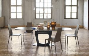 tiết kiệm không gian nhờ bàn ăn mở rộng