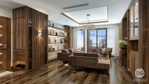 Căn hộ Vinhomes Metropolis 4 Phòng Ngủ thiết kế từ ĐỒNG GIA 01