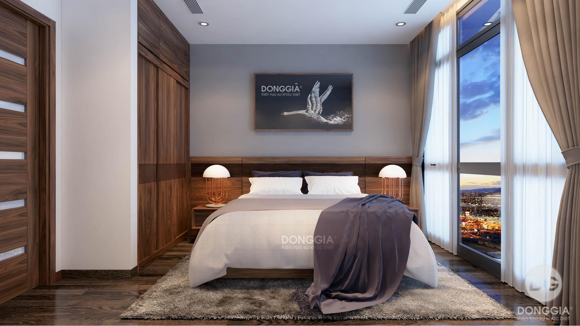 nội thất phòng ngủ vinhome metropolis 3