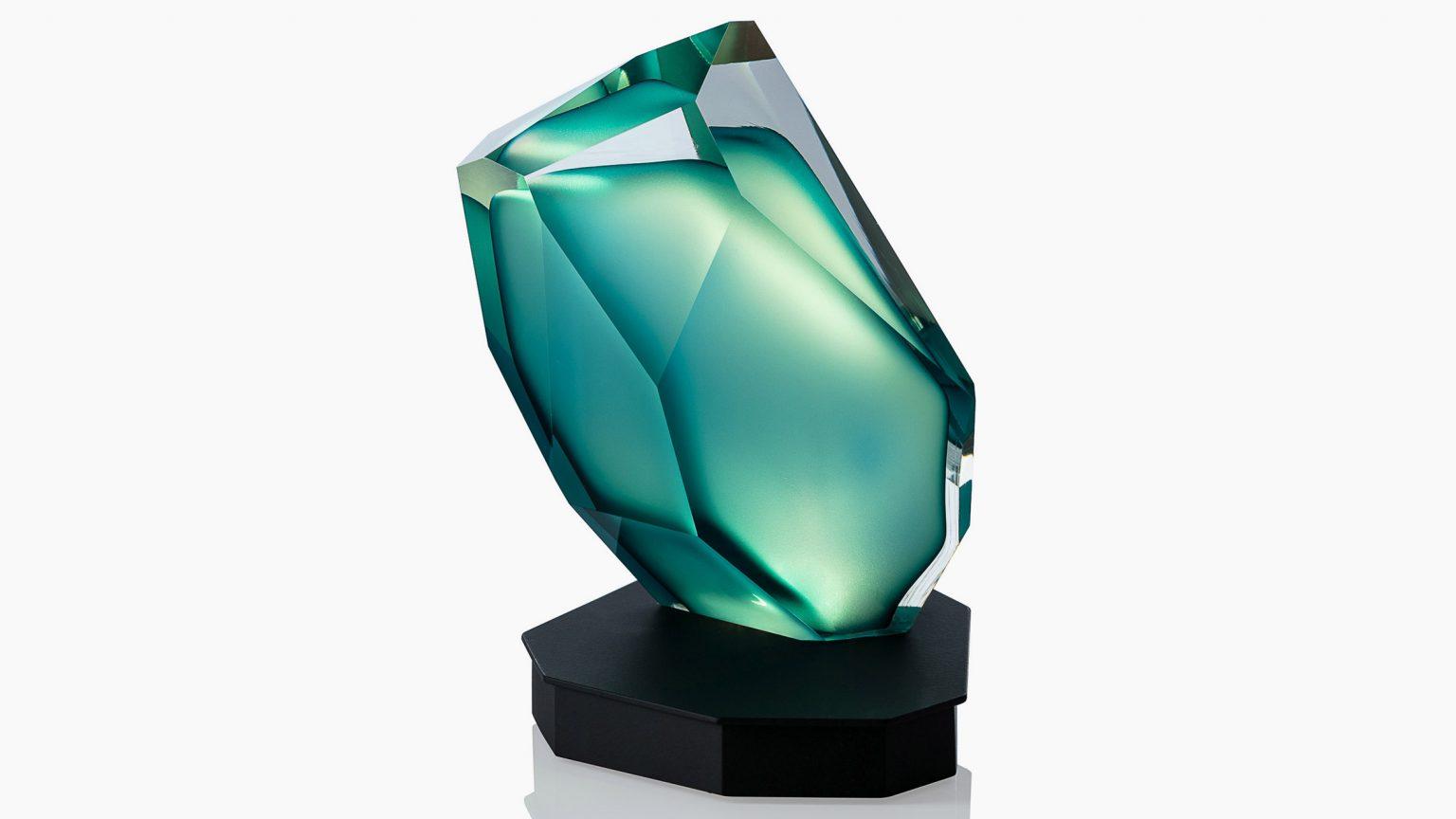 Đèn bàn thủy tinh Crystal RockchoLasvit