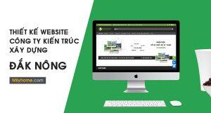 Thiết Kế Website Cty Kiến Trúc Xây Dựng tại Đắk Nông