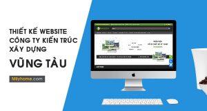 Thiết Kế Website Cty Kiến Trúc Xây Dựng tại Vũng Tàu