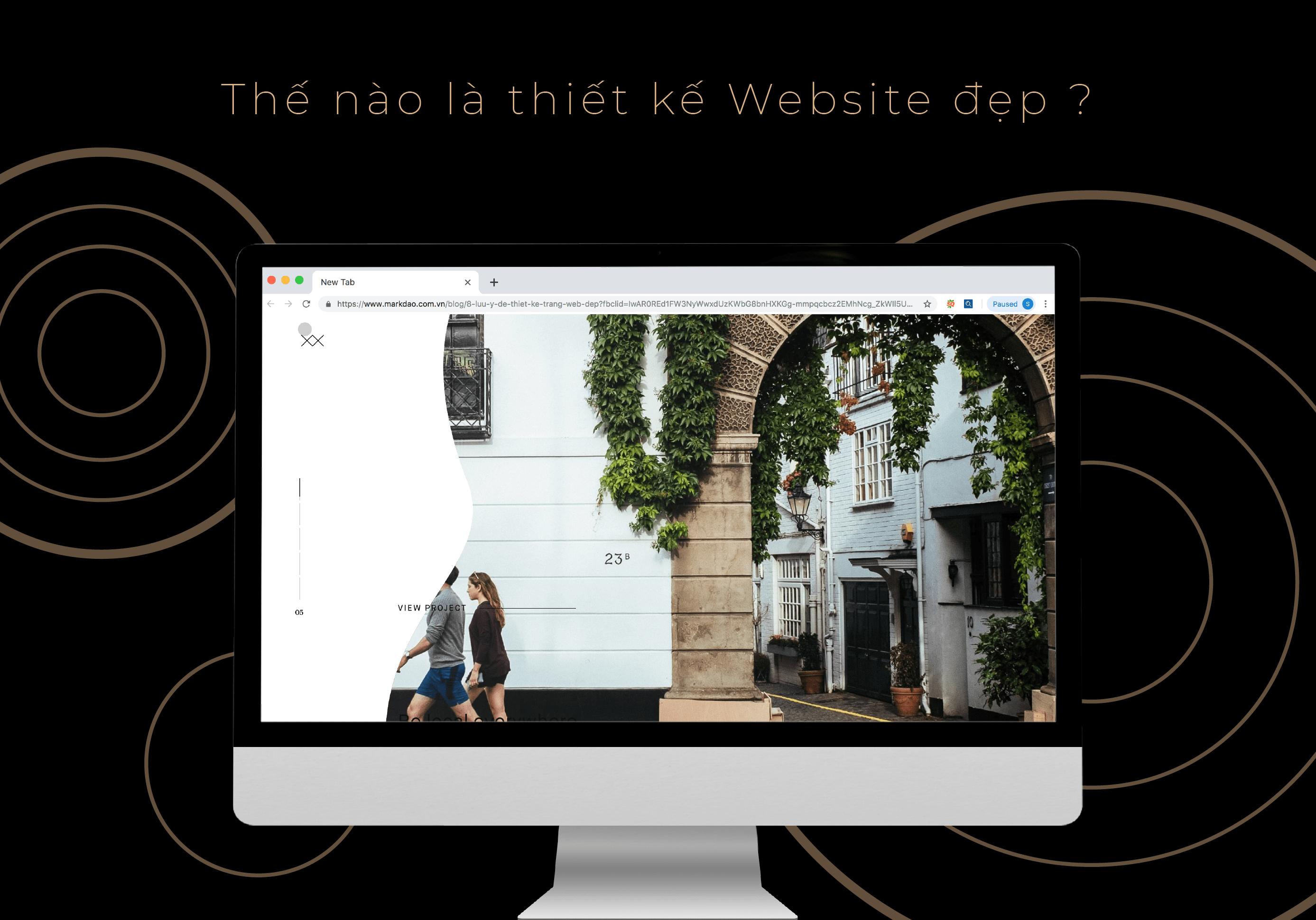 thiết kế website ngành kiến trúc xây dựng