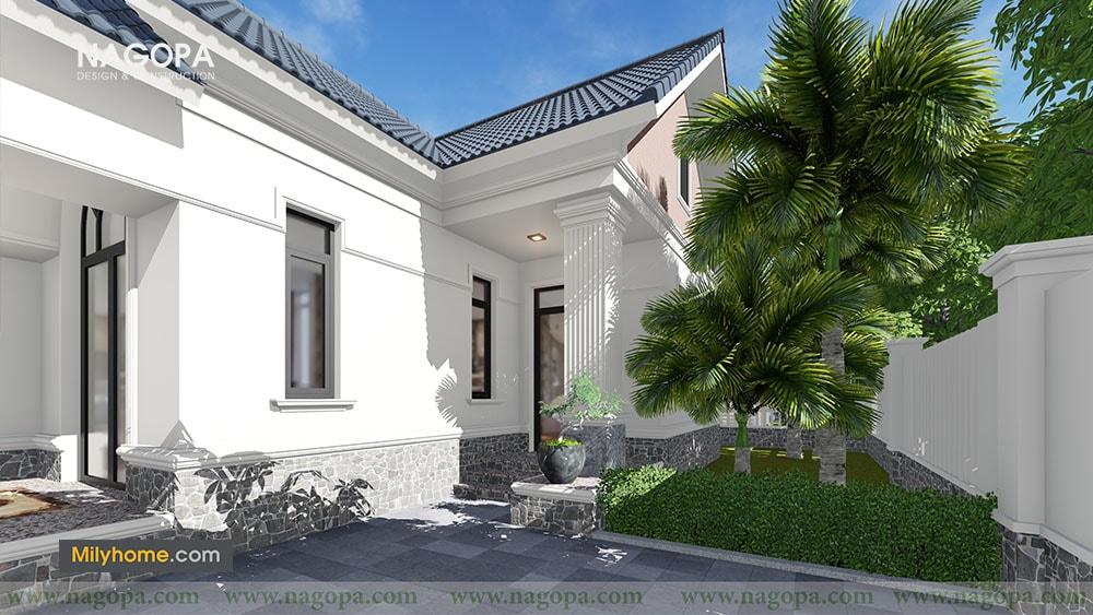 Chiêm Ngưỡng Biệt thự 1 tầng mái thái thiết kế từ NAGOPA 05