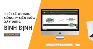 Thiết Kế Website Cty Kiến Trúc Xây Dựng tại Bình Định