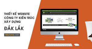 Thiết Kế Website Cty Kiến Trúc Xây Dựng tại Đắk Lắk