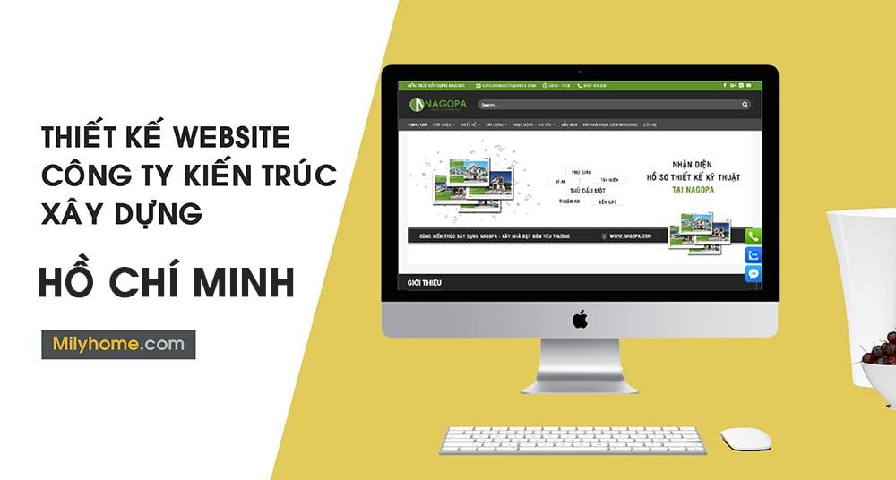 Thiết Kế Website Cty Kiến Trúc Xây Dựng tại Hồ Chí Minh