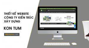 Thiết Kế Website Cty Kiến Trúc Xây Dựng tại Kon Tum