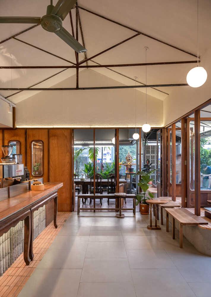 Quán cà phê Basic Space ở Thái Lan