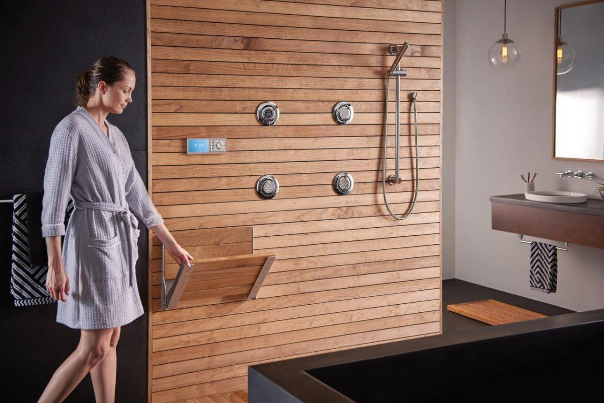 phòng tắm tương lai tự động hóa ra sao