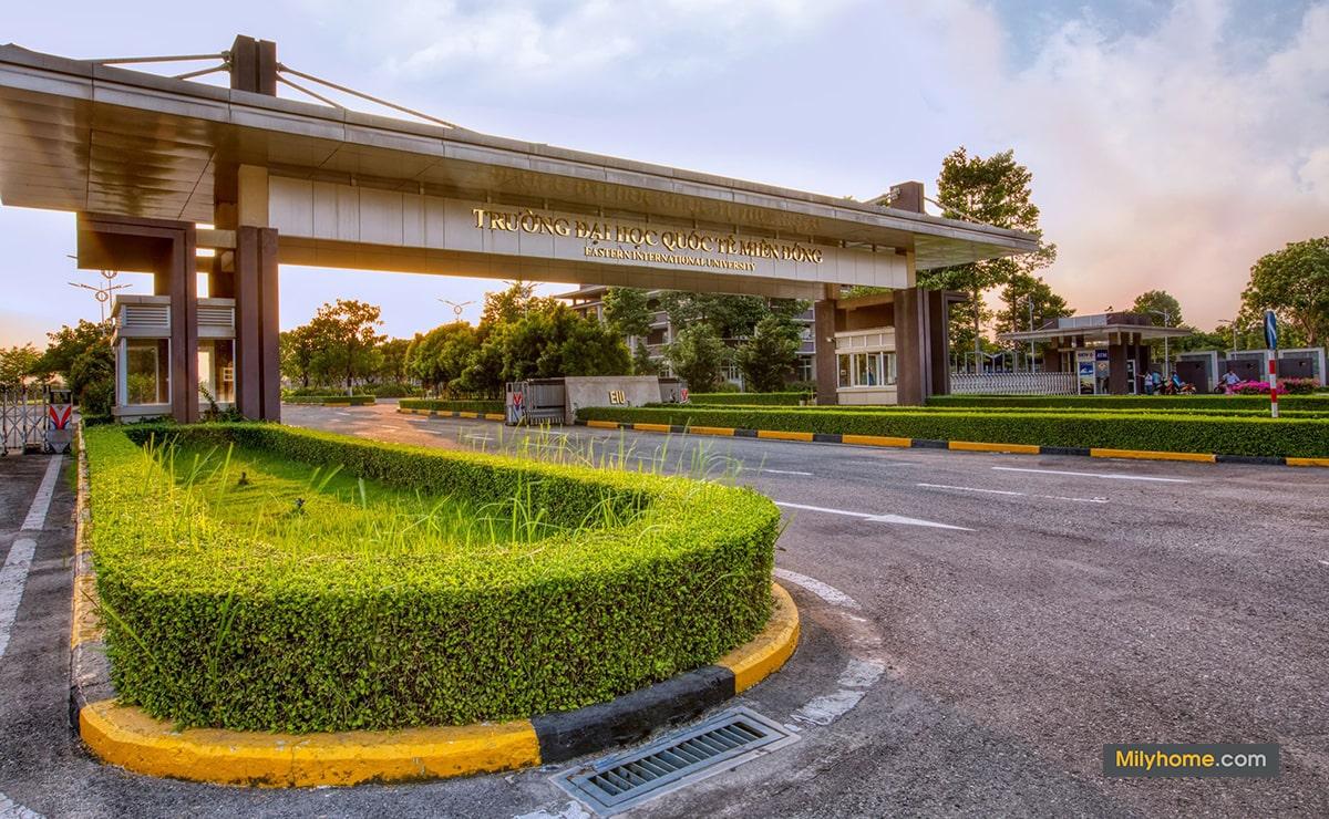hình ảnh trường đại học quốc tế miền đông